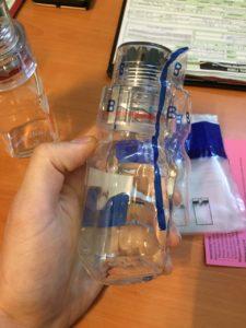 Допинг проба - бутылочка