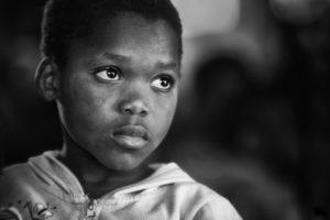 Ребенок чернокожий