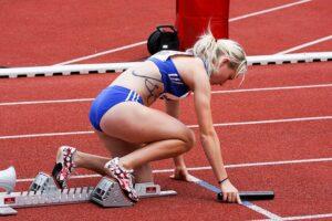 низкий старт в легкой атлетике