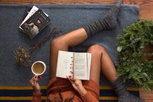 чтение дома