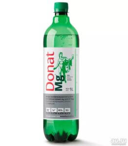 вода с магнием donat