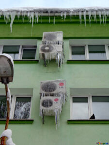 температурный режим кондиционера зимой
