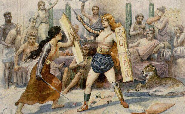 женщины гладиаторы